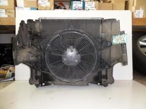 Jeep cherokee 02-08 2.4cc-2.7cc βενζίνη ψυγείο κομπλέ (νερού-air condition-βεντιλατέρ-intercooler)