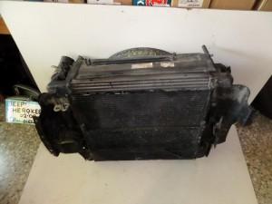 Jeep cherokee 02-08 2.8cc diesel ψυγείο κομπλέ (νερού-air condition-intercooler-λαδιού)