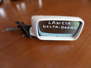 Lancia dedra μηχανικός καθρέπτης δεξιός άσπρος