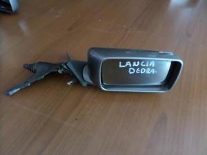 Lancia dedra μηχανικός καθρέπτης δεξιός σκούρο ασημί