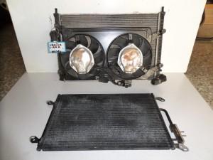 Lancia Lybra 1998-2005 2.4cc diesel ψυγείο κομπλέ (νερού-air condition-βεντιλατέρ)