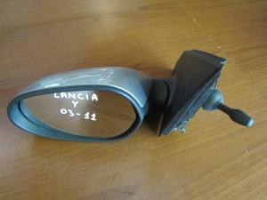 lancia y 03 11 michanikos kathreptis aristeros asimi 300x225 Lancia Y 2003 2010 μηχανικός καθρέπτης αριστερός ασημί
