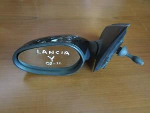 lancia y 03 11 michanikos kathreptis aristeros mavros 300x225 Lancia Y 2003 2010 μηχανικός καθρέπτης αριστερός μαύρος