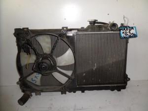 Mazda mx5 90-99 1.6cc-1.8cc βενζίνη ψυγείο κομπλέ (νερού-βεντιλατέρ)