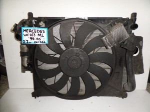 mercedes ml w163 98 05 2 7cc diesel psigio komple nerou air condition ventilater intercooler 300x225 Mercedes Ml w163 1998 2005 2.7cc diesel ψυγείο κομπλέ (νερού air condition βεντιλατέρ intercooler)