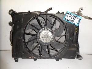 Mercedes Slk R170 1996-2003 1.8-2.0-2.3cc βενζίνη ψυγείο κομπλέ (νερού αυτόματο-βεντιλατέρ)