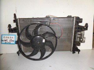 opel corsa c 00 06 1 0 1 2 1 4cc venzini psigio komple nerou air condition ventilater 300x225 Opel Corsa C 2000 2006 1.0 1.2 1.4cc βενζίνη ψυγείο κομπλέ (νερού air condition βεντιλατέρ)