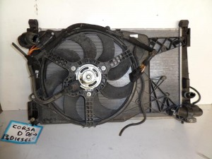 opel corsa d 06 1 3cc diesel psigio komple nerou air condition ventilater 300x225 Opel Corsa D 2006 2014 1.3cc diesel ψυγείο κομπλέ (νερού air condition βεντιλατέρ)
