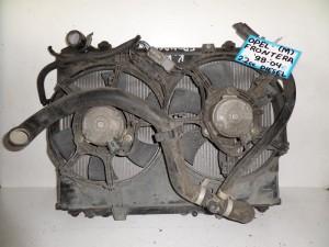 Opel frontera 1998-2004 2.2cc diesel ψυγείο κομπλέ (νερού-βεντιλατέρ)
