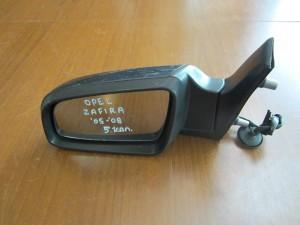 Opel zafira 05-08 ηλεκτρικός καθρέπτης αριστερός ανθρακί (5 καλώδια)