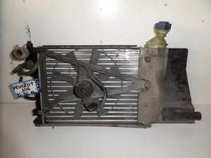 Peugeot 106 91-96 1.4cc βενζίνη ψυγείο κομπλέ (νερού-βεντιλατέρ)
