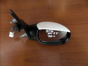 peugeot 206 98 ilektrikos kathreptis dexios aspros 7 kalodia aspro fis 300x225 Peugeot 206 1998 2009 ηλεκτρικός καθρέπτης δεξιός άσπρος (7 καλώδια άσπρο φίς)