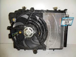 peugeot 207 06 1 6cc diesel psigio komple nerou air condition ventilater 300x225 Peugeot 207 2006 2012 1.6cc diesel ψυγείο κομπλέ (νερού air condition βεντιλατέρ)