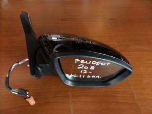 peugeot 208 2012 ilektrikos anaklinomenos kathreptis dexios mavros 11 kalodia 300x225 Peugeot 208 2012 2017 ηλεκτρικός ανακλινόμενος καθρέπτης δεξιός μαύρος (11 καλώδια)