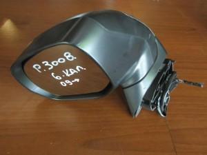Peugeot 3008 2009-2016 ηλεκτρικός καθρέπτης αριστερός γκρί (6 καλώδια-1 φίς)
