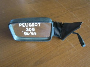 Peugeot 309 1985-1994 μηχανικός καθρέπτης αριστερός άβαφος