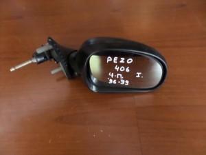 Peugeot 406 sedan 96-99 μηχανικός καθρέπτης δεξιός άβαφος