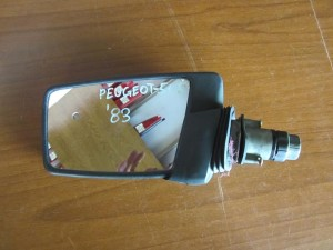 Peugeot 505 83 μηχανικός καθρέπτης αριστερός άβαφος
