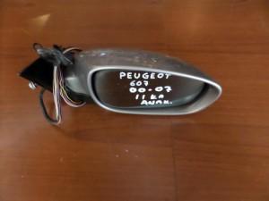 Peugeot 607 00-07 ηλεκτρικός ανακλινόμενος καθρέπτης δεξιός ασημί (11 καλώδια)