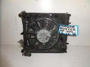 porsche boxster 04 2 5cc 2 7cc venzini psigio komple nerou air condition ventilater aristero 300x225 Porsche boxster 986 1996 2004 2.5cc 2.7cc βενζίνη ψυγείο κομπλέ (νερού air condition βεντιλατέρ αριστερό)