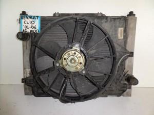 renault clio 01 06 1 5cc diesel psigio komple nerou air condition ventilater 300x225 Renault Clio 2001 2006 1.5cc diesel ψυγείο κομπλέ (νερού air condition βεντιλατέρ)