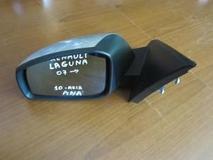 Renault laguna 07 ηλεκτρικός καθρέπτης αριστερός ασημί (10 ακίδες)