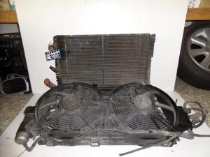 Renault laguna 94-00 1.6cc-2.0cc βενζίνη ψυγείο κομπλέ (νερού-air condition-βεντιλατέρ)