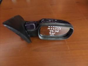 Renault Megane 2002-2008 ηλεκτρικός ανακλινόμενος καθρέπτης δεξιός μπλέ (9 ακίδες)
