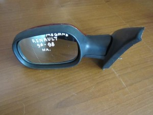 Renault megane 96-98 ηλεκτρικός καθρέπτης αριστερός μπορντό
