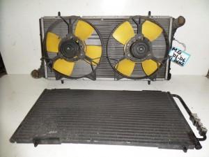 Rover mg 01-06 βενζίνη ψυγείο κομπλέ (νερού-air condition-βεντιλατέρ)