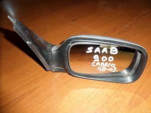 Saab 900 cabrio 98-03 ηλεκτρικός καθρέπτης δεξιός ασημί