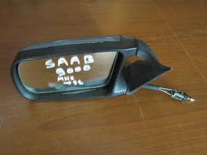Saab 9000 92 μηχανικός καθρέπτης αριστερός μπλέ ανοιχτό