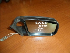Saab 9000 92 μηχανικός καθρέπτης δεξιός άβαφος