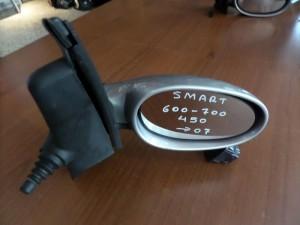 Smart 600-700 (450) 1998-2007 μηχανικός καθρέπτης δεξιός ασημί