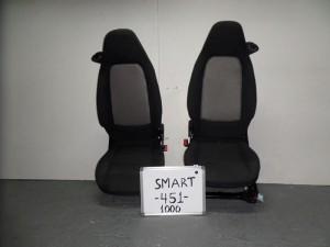 smart fortwo 1000 451 kathisma empros aristero dexi mavro gkri 300x225 Smart Fortwo 1000 (451)2007 2014 κάθισμα εμπρός αριστερό δεξί μαύρο γκρί