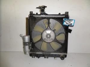 Suzuki Alto 2003-2008 1.1cc βενζίνη ψυγείο κομπλέ (νερού-βεντιλατέρ)