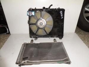 Suzuki alto 95-03 1.0cc βενζίνη ψυγείο κομπλέ (νερού-air condition-βεντιλατέρ)