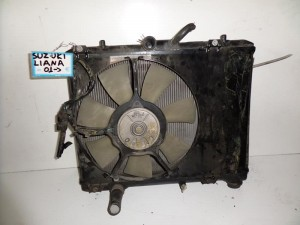 suzuki liana 01 psigio komple nerou air condition ventilater 300x225 Suzuki Liana 2001 2007 ψυγείο κομπλέ (νερού air condition βεντιλατέρ)