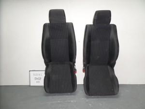 suzuki swift 06 11 5thiro kathisma empros aristero dexi gkri skouro 300x225 Suzuki Swift 2005 2011 5θυρο κάθισμα εμπρός αριστερό δεξί γκρί σκούρο