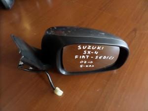 Suzuki sx4-Fiat sedici 07 ηλεκτρικός καθρέπτης δεξιός ασημί σκούρο (5 καλώδια)