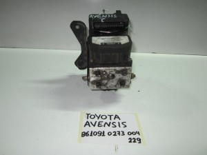 toyota avensis 03 08 monada abs bosch kodikos 861091 0 273 004 2291 300x225 Toyota avensis 2003 2009 μονάδα ABS bosch (κωδικός: 861091 0 273 004 2291)