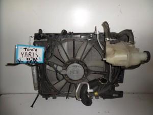toyota yaris 05 06 1 4cc diesel psigio komple nerou air condition ventilater 300x225 Toyota Yaris 2004 2006 1.4cc Diesel ψυγείο κομπλέ (νερού air condition βεντιλατέρ)
