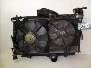 Volvo S40-V40 96-04 1.8cc-2.0cc βενζίνη ψυγείο κομπλέ (νερού-intercooler-βεντιλατέρ)