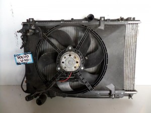 Volvo V40-S40 98-04 2.0cc βενζίνη ψυγείο κομπλέ (νερού-βεντιλατέρ)