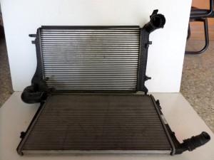VW caddy 2004-2015  Audi A3 2003-2008 1.9cc diesel ψυγείο νερού-ψυγείο intercooler