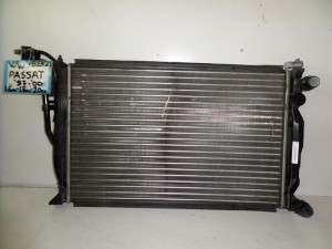 VW passat 97-00 1.6cc-1.8cc-2.0cc turbo βενζίνη ψυγείο κομπλέ (νερού-air condition)