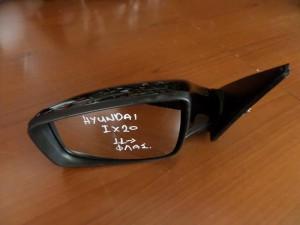 Hyundai ix20 2011 ηλεκτρικός καθρέπτης με φλάς αριστερός μαύρος