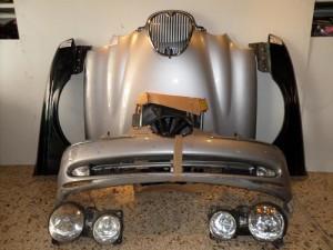 Jaguar s-type μούρη-μετώπη εμπρός κομπλέ