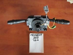 peugeot 207 06 diakoptis foton flas ke ialokatharistiron 300x225 Peugeot 207 2006 2012 διακόπτης φώτων φλάς και υαλοκαθαριστήρων