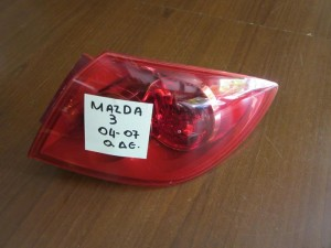 Mazda 3 2004-2007 5θυρο πίσω δεξί φανάρι